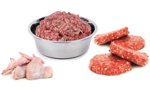 Raw Dog Food Chews Pet Treats Meaty Bones Free Shipping